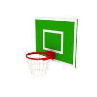 Амортизационное баскетбольное кольцо (с сеткой)
